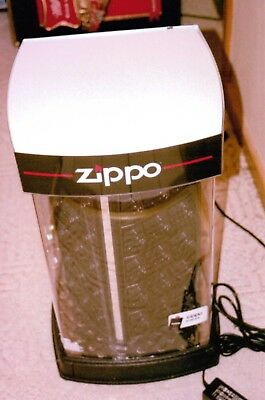 Zippo Lighters Large LED Lighted & Turning Store Display