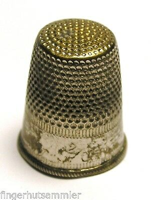 Fingerhut Thimble aus Metall No. 2 - 16 mm