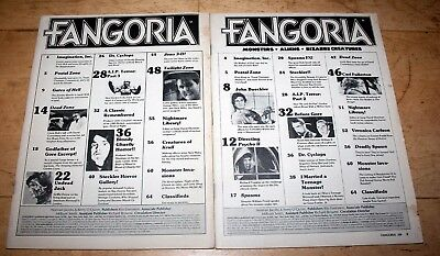 Fangoria 28 and 29 (2 issues)