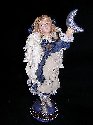 Boyds Bears FOLKSTONE LE ANGEL LUMINETTE By the Light of the Silvery Moon NEW