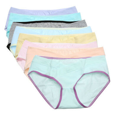 UN3F Soft Cotton Pregnant Women Underwear Breathable Belly Support Panties