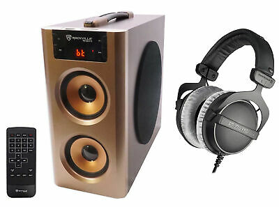 Beyerdynamic DT-770-PRO-250 Closed Back Reference Studio Headphones+Free Speaker