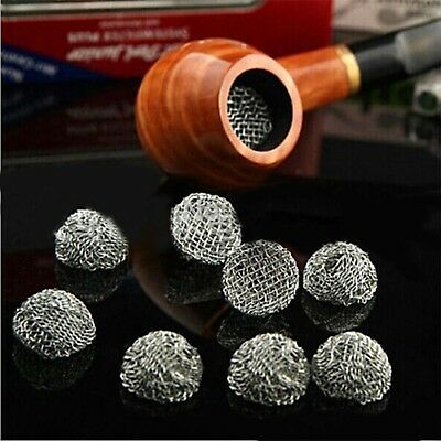 20pc Silver 20mm Smo-king Pipe Metal Screen Net Percolator Leach Net Filter