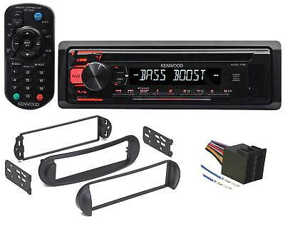 Kenwood CD Receiver w/Aux/Mp3/WMA, Eq + Remote For 1999-10 VOLKSWAGEN VW Beetle