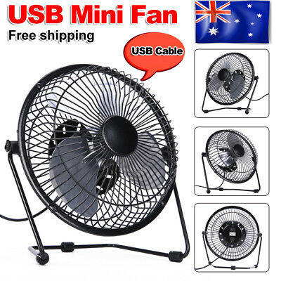 Super Mute Portable Mini Fan Cooling Desk Notebook Laptop Computer PC USB Cooler