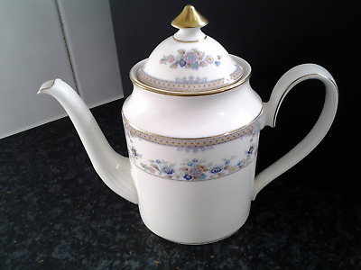 """NEW... ROYAL DOULTON """"HIGHLAND VALLEY COFFEE POT 1989 ~ Brand new condition."""