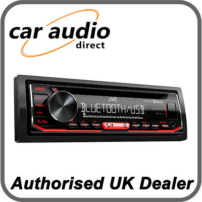 Autoradio JVC KD-R794BT MP3 AUX IN USB  BLUETOOTH Illuminazione Rossa