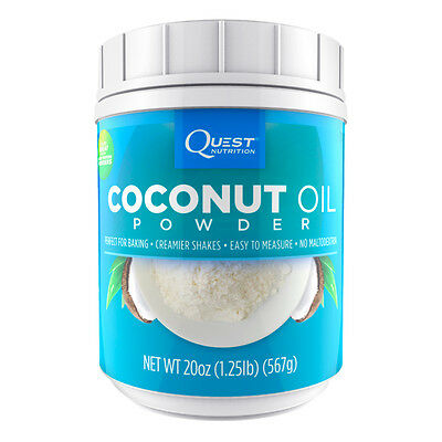 Quest Nutrition Coconut Oil Powder Baking Alternative (20oz) (Best by 03/2019)