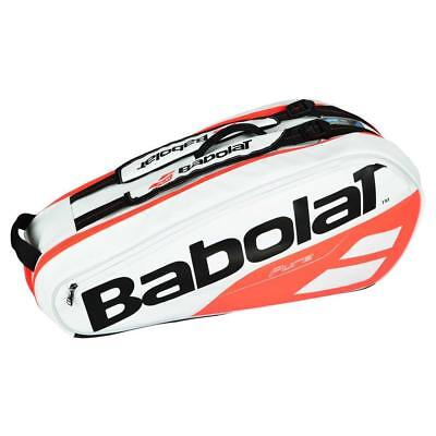 Babolat Pure Strike 6 Rackets White   Red