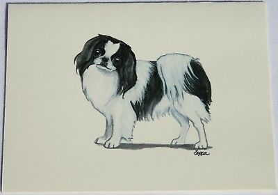 Japanese Chin Dog Zeppa Studios Fur Children Note Cards Set of 8