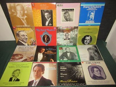 Schallplatten-Sammlung, Collection: Klassik, Arias, Tenor, Baß, Bariton 73 LP's