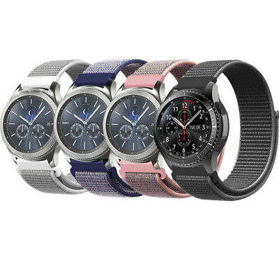 For Samsung Gear S3 Frontier / Classic Sport Loop Watch Band Nylon Strap Bands