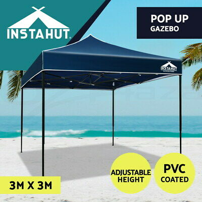 Instahut Instahut Wedding Gazebo Net Party Tent Marquee Canopy Outdoor Camping