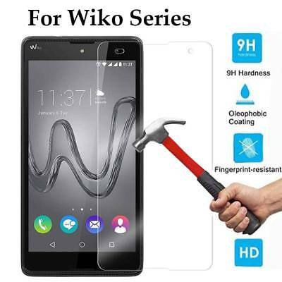 9H Premium Tempered Glass Screen Protector Cover Film Guard Skin For Wiko Series