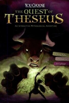 QUEST OF THESEUS AN INTERACTIVE MYTHOLOG, Hoena, Blake, 978147473...