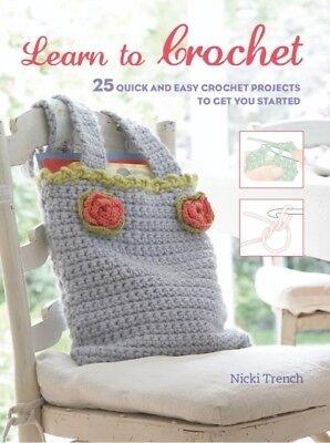 Learn To Crochet, Trench, Nicki, 9781782494317