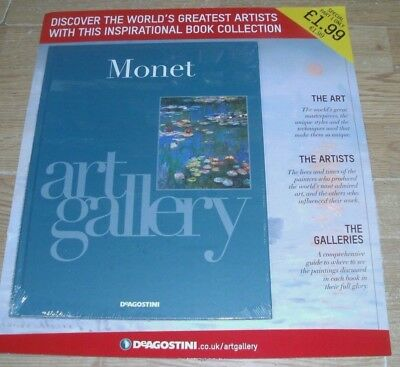 DeAgostini Art Gallery: Artists Book Collection Partwork Issue #1 Monet