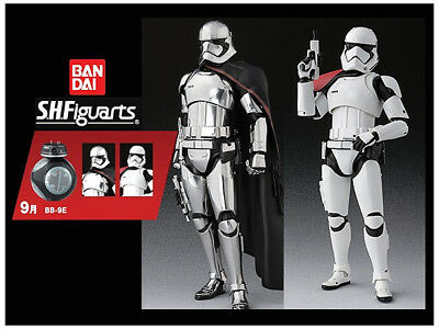 S.H.Figuarts First Order Stormtrooper & Captain Phasma with BB-9E
