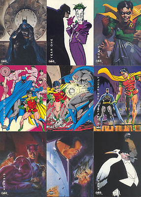 TC 1994 BATMAN THE SAGA OF THE DARK KNIGHT Set 100 Cards