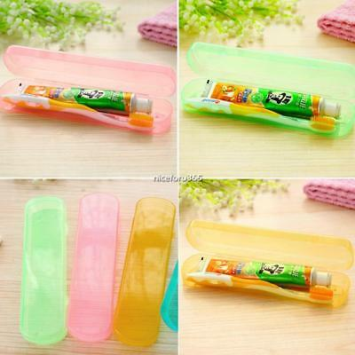 Portable Travel Toothbrush Toothpaste Protect Cases Dustproof Storage N4U8