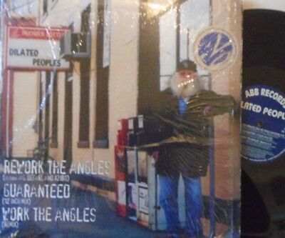 """DILATED PEOPLES - Rework The Angels ~ 12"""" Single PS US PRESS"""