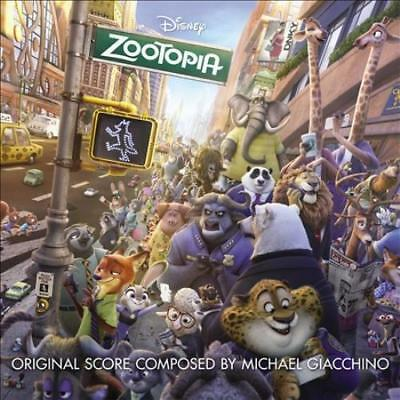 Michael Giacchino - Zootopia [Original Motion Picture Soundtrack] New Cd