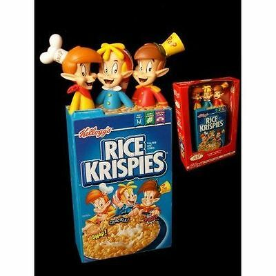 Snap Crackle and Pop Vinyl  Figure Kellog's Rice Krispies Bank