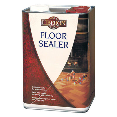 Liberon Wood Floor Sealer 1L & 5L Oil Based For All Wood and Parquet Floors