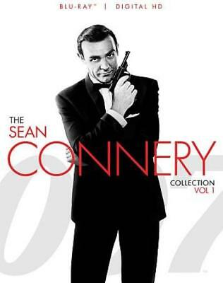 007: The Sean Connery Collection - Vol 1 New Region 1 Blu-Ray