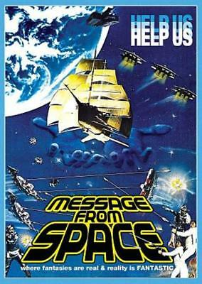 Message From Space New Region 1 Dvd