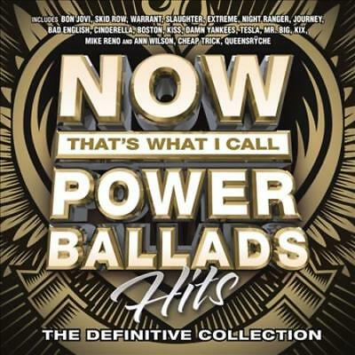 Various Artists - Now That's What I Call Power Ballads: Hits New Cd