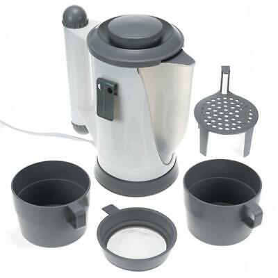 Plug In 12V Car Kettle Set Van Mpv Tea Coffee Maker Electric Heater For Ford
