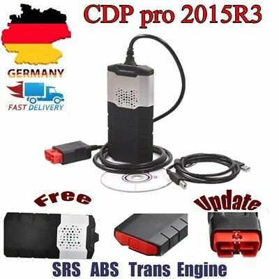 OBD2 Auto Car CDP pro 2015R3 Diagnostic Scanner Tool W/ Keygen WO