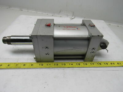 """Milwaukee A-61 4""""Bore 3"""" Stroke 1-3/8"""" Rod Clevis 250PSI Air Cylinder"""