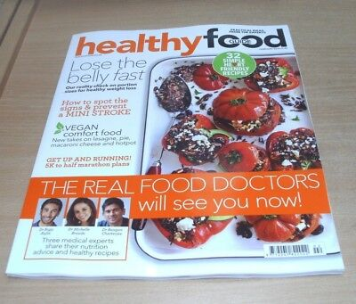 Healthy Food Guide magazine FEB 2018 Vegan Comfort, Lose the Belly Fast, Running