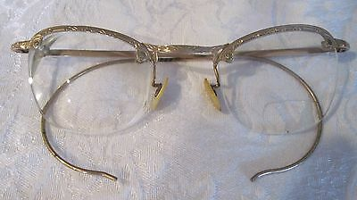 Vintage prescription eyeglasses, w case, 12 KGF, Pittsburgh, Pa.