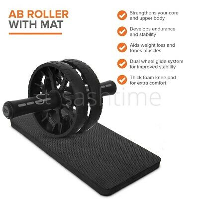 28 Position Excercise Mat Yoga Exercise Fitness Workout Physio Non Slip w Bottle