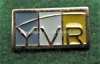 AIRPORT Lapel Pin- YVR VANCOUVER INTERNATIONAL AIRPORT. MINT