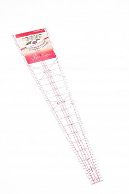 Sew Easy Patchwork Quilting Ruler 10 Degree Wedge - each (NL4185)