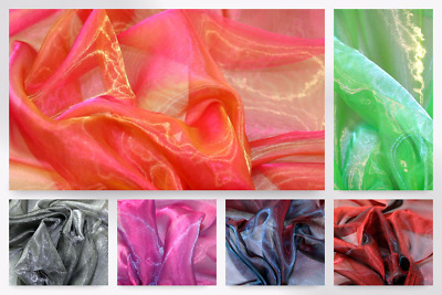 Two Tone Organza Dress Fabric (ORG.T-M)
