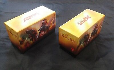 MTG Cards  Empty Storage Box Magic the Gathering Rivals of Ixalan Art x 2