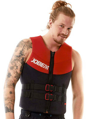 Gilet neoprene Vest Men Red Jobe 2018 - CE ISO - jetski - pwc - wake - paddle
