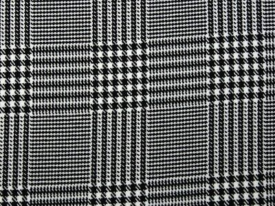 Prince of Wales Check Suiting Dress Fabric (POWC-M)