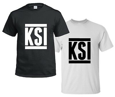CHILDRENS kids T SHIRT KSI Sidemen YouTube Army FIFA Gaming keep up 5-13 YEARS