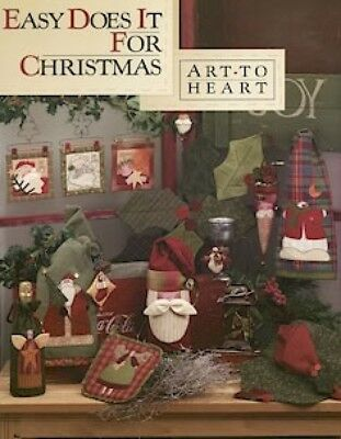 Art To Heart Easy Does It For Christmas Quilt Book (QBAH19)