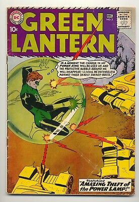 Green Lantern #3 Series 2 (1960) Good Plus (2.5) ~ DC Comics ~ Silver Age