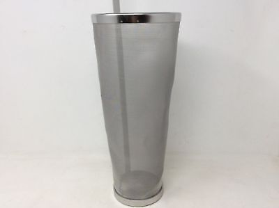 (Closeout) Brewing Hopper Spider Strainer Stainless Steel 300 Micron Hops Filter