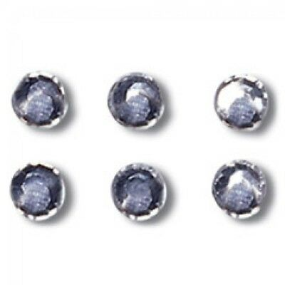 Impex Iron On Crystal Diamante Rhinestones - per pack of 42 (RH11)