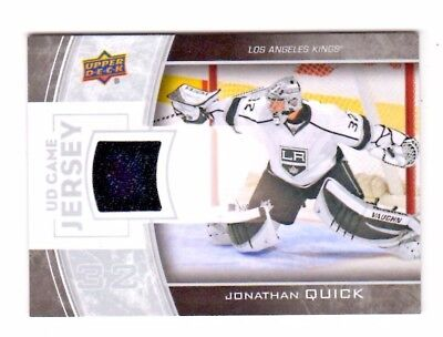 Jonathan Quick Nhl 2013-14 Upper Deck Game Jerseys White (Los Angeles Kings)