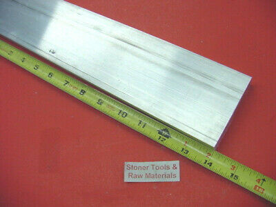 "3/8"" X 4"" ALUMINUM 6061 FLAT BAR 14"" Long T6511 .375"" Plate Mill Stock"
